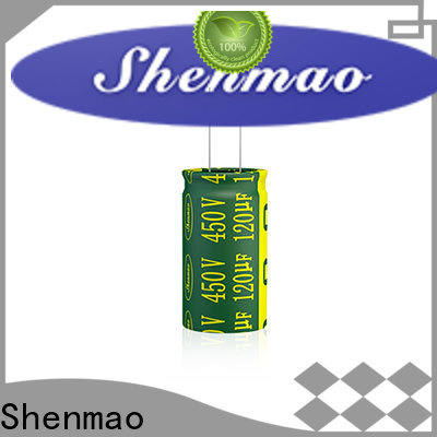 Shenmao electrolytic capacitor function overseas market for filter