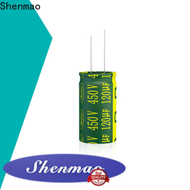 Shenmao high quality electrolytic capacitors owner for filter