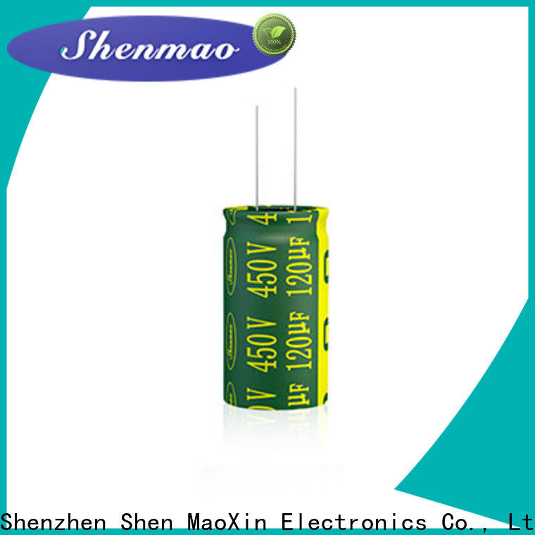 Shenmao radial aluminum electrolytic capacitors owner for rectification