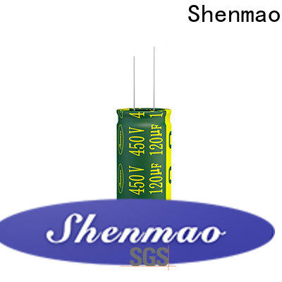 Shenmao radial electrolytic capacitor supplier for timing