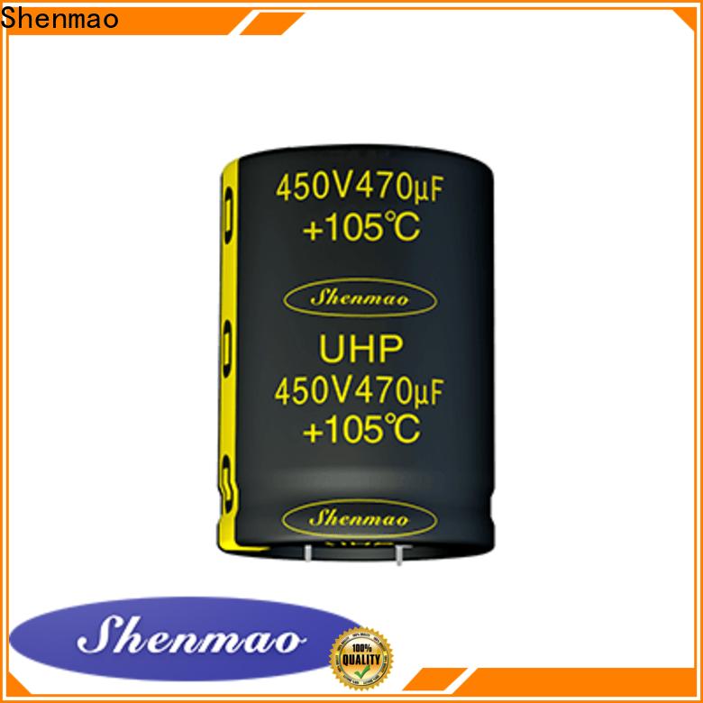 Shenmao snap-in capacitors vendor for filter