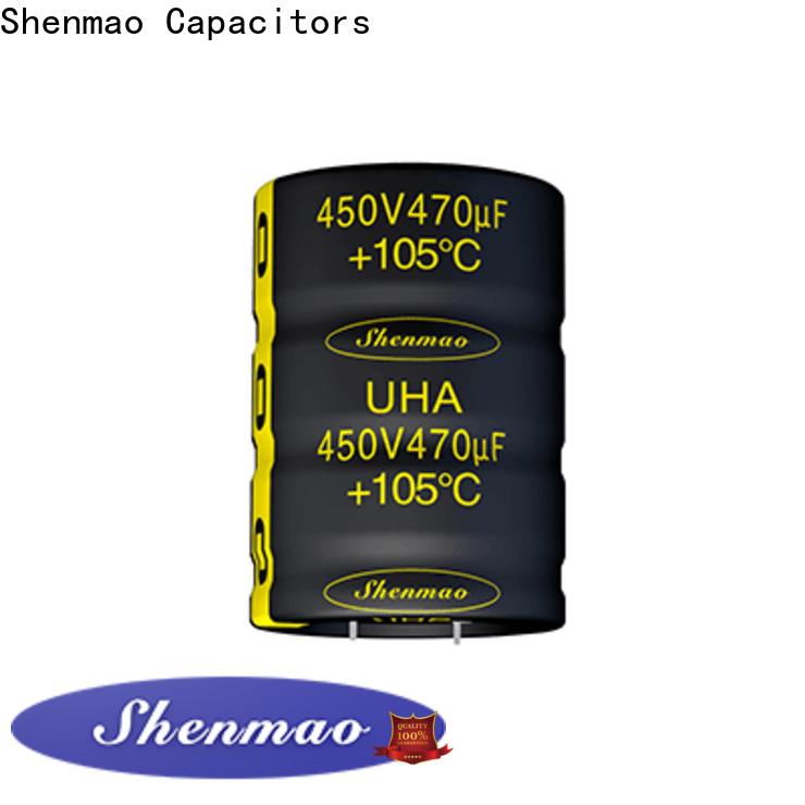Shenmao easy to use panasonic electrolytic capacitors vendor for rectification
