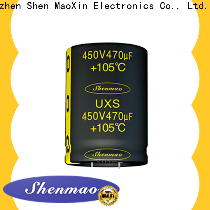 Shenmao snap in capacitor marketing for filter