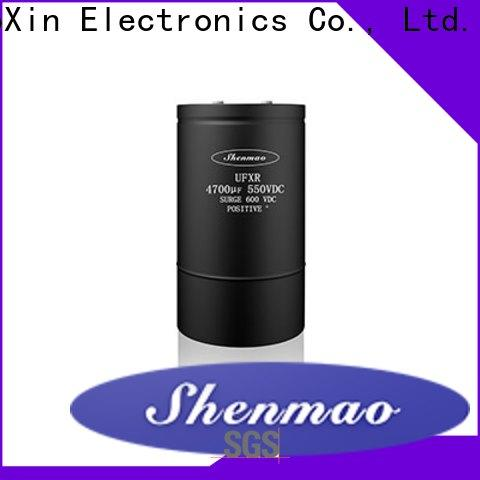Shenmao advanced technology screw terminal electrolytic capacitor owner for timing