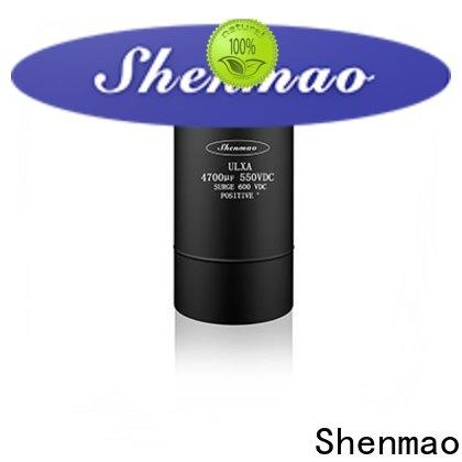 Shenmao panasonic aluminum electrolytic capacitors supplier for coupling