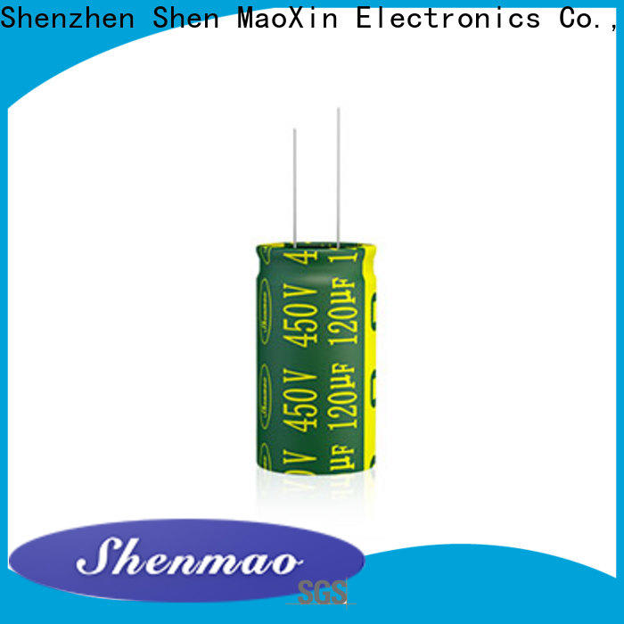 Shenmao 1000uf 450v radial electrolytic capacitors supplier for timing