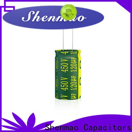 Shenmao durable 600 volt electrolytic capacitor bulk production for filter
