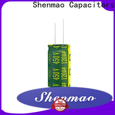 Shenmao quality-reliable radial type capacitor vendor for timing