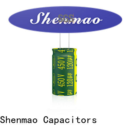 Shenmao price-favorable best electrolytic capacitors for audio bulk production for tuning