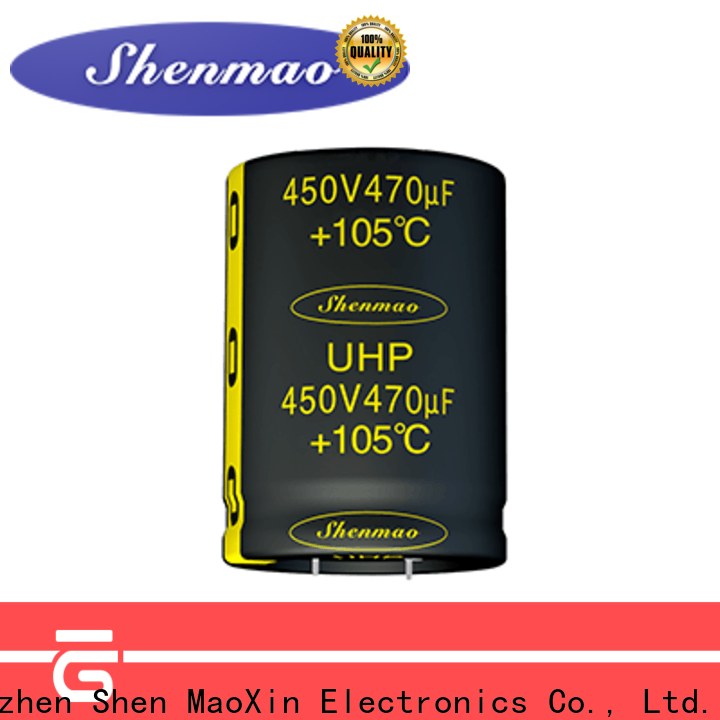 Shenmao 450 volt electrolytic capacitors marketing for coupling