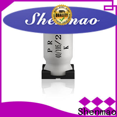 Shenmao good to use 220uf smd capacitor marketing for timing