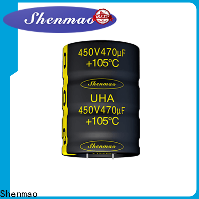 Shenmao Snap-in Aluminum Electrolytic Capacitor overseas market for rectification