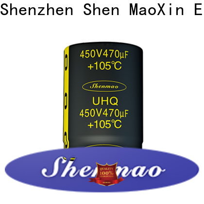 Shenmao 100uf electrolytic capacitor bulk production for coupling