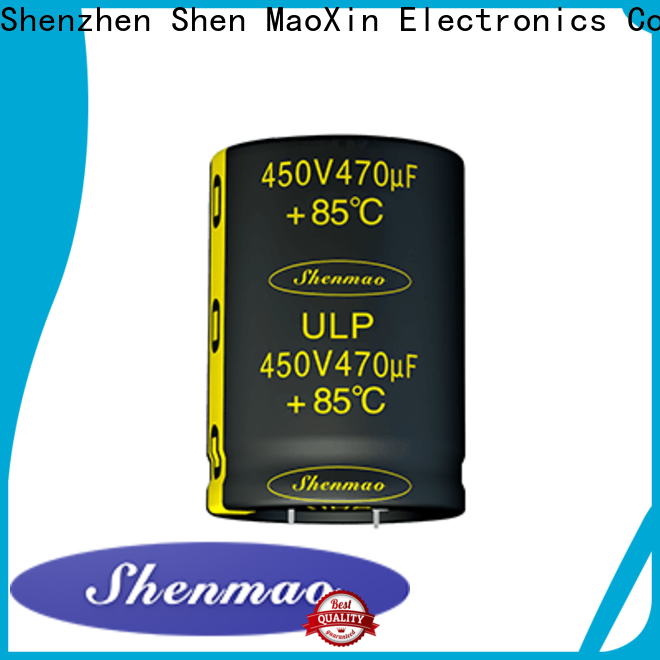 Shenmao 10uf electrolytic capacitor overseas market for timing