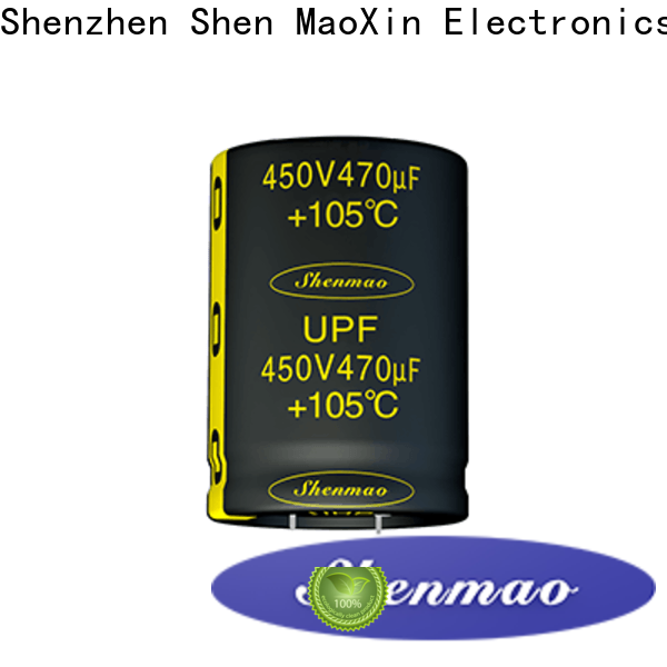Shenmao electrolytic capacitor price vendor for coupling