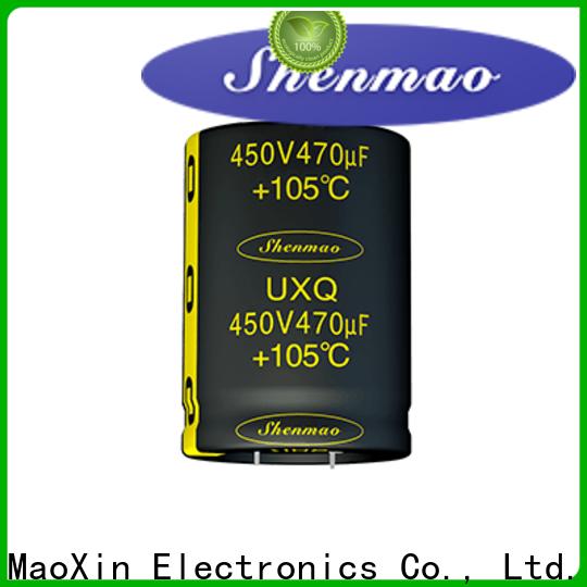 Shenmao Snap-in Aluminum Electrolytic Capacitor vendor for DC blocking