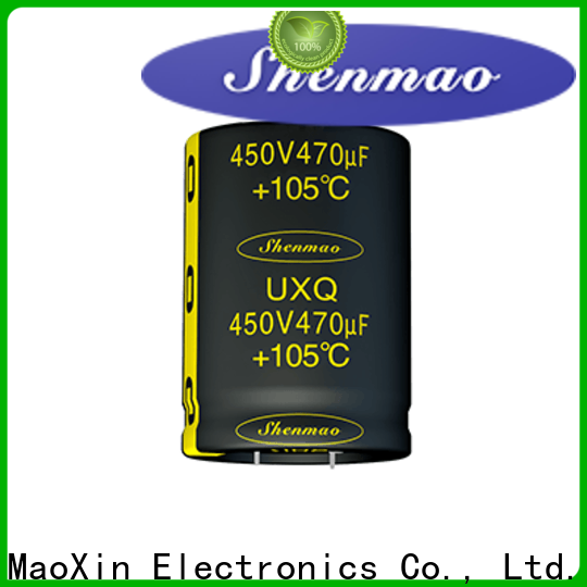 Shenmao Snap-in Aluminum Electrolytic Capacitor vendor for DC blocking