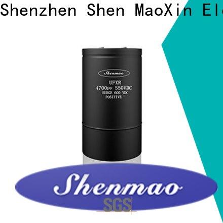 Shenmao screw type capacitor oem service for filter