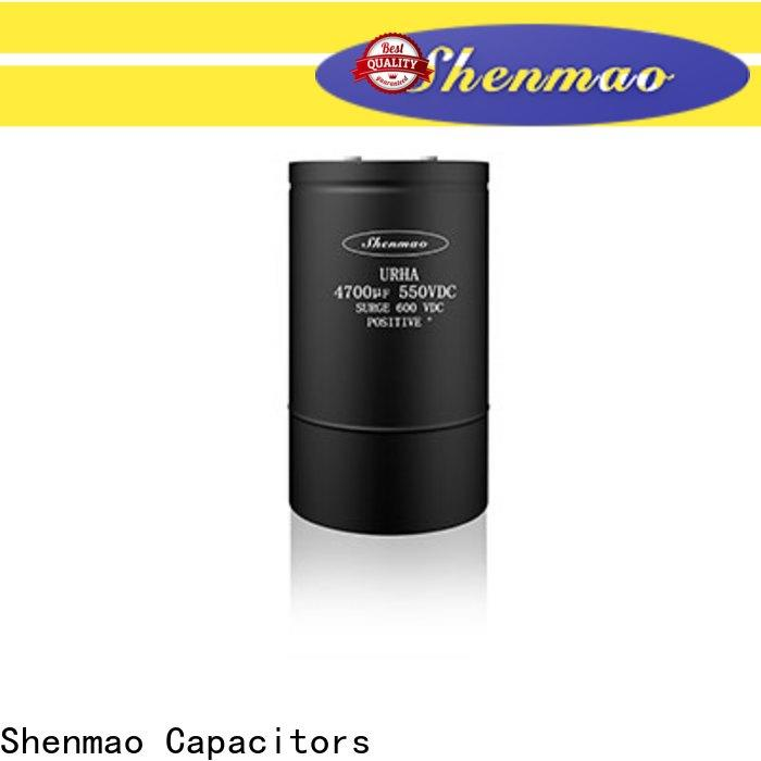 Shenmao professional 600v electrolytic capacitors vendor for rectification