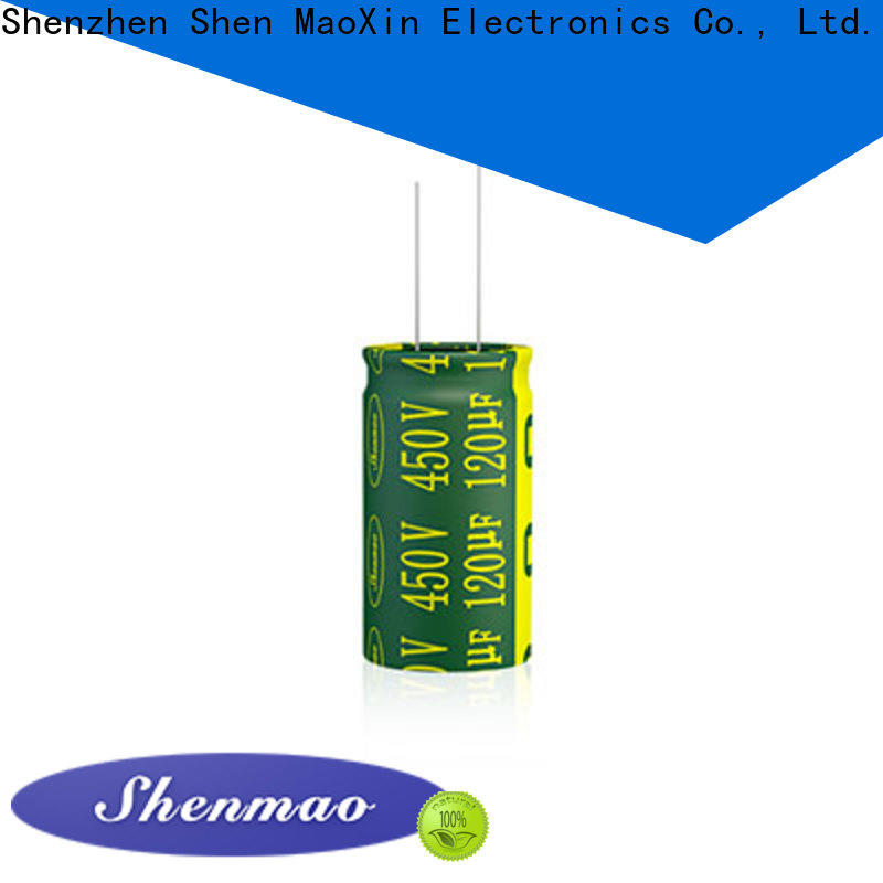 Shenmao high quality aluminum electrolytic capacitor marketing for tuning