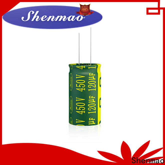 Shenmao best electrolytic capacitors for audio supplier for rectification