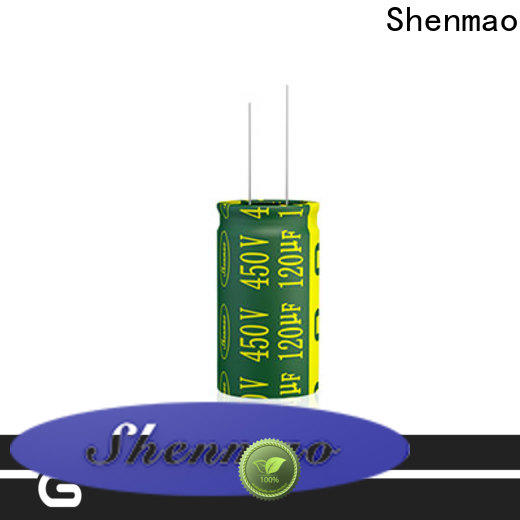 Shenmao 600 volt electrolytic capacitor bulk production for rectification