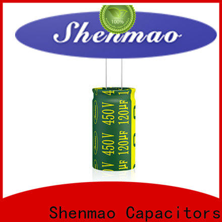Shenmao price-favorable best electrolytic capacitors for audio vendor for tuning