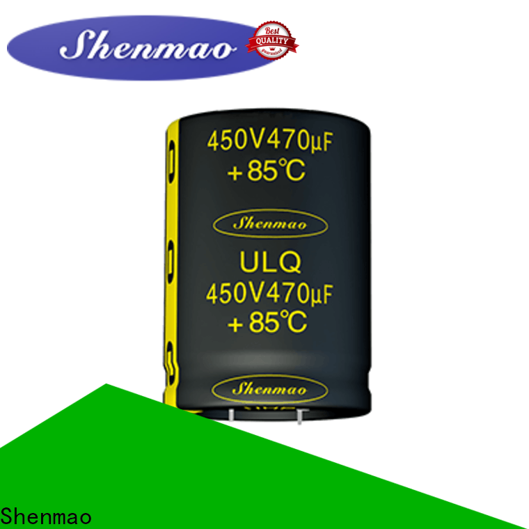 Shenmao quality-reliable snap in capacitor marketing for DC blocking