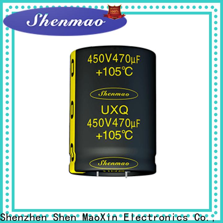 Shenmao electrolytic capacitor price bulk production for energy storage