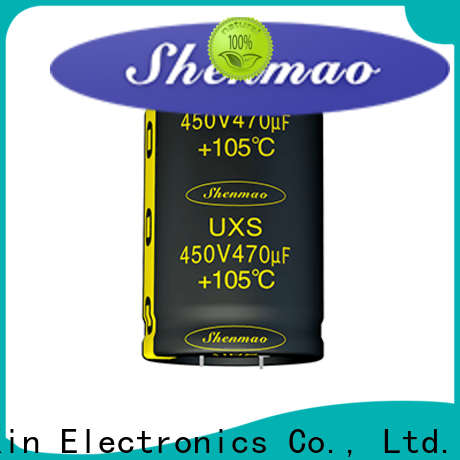 Shenmao stable aluminium capacitor manufacturer owner for coupling