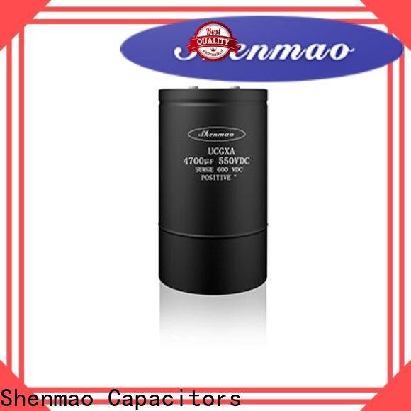 Shenmao aluminum capacitor manufacturers vendor for energy storage