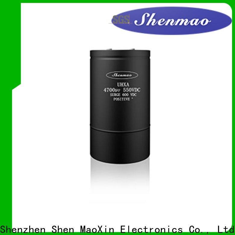 Shenmao 100uf 50v electrolytic capacitor overseas market for temperature compensation