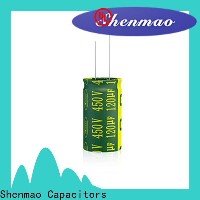 Shenmao radial lead capacitor vendor for temperature compensation
