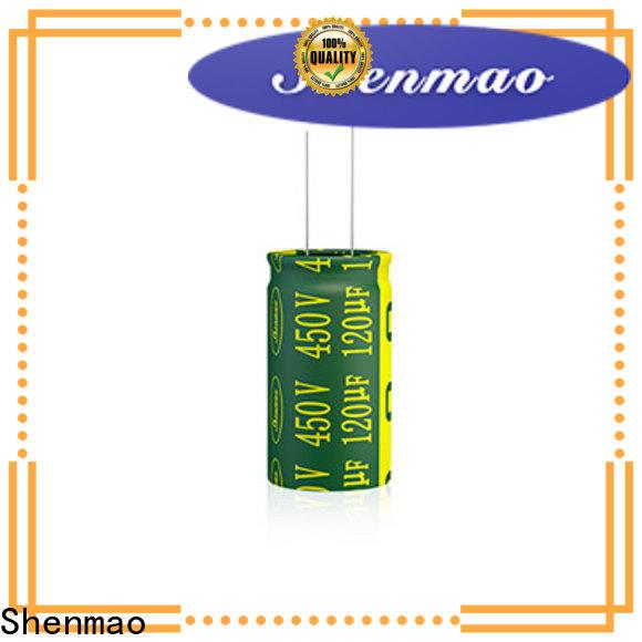 Shenmao radial lead capacitor vendor for DC blocking