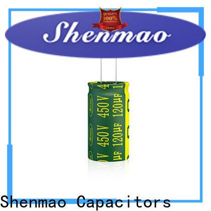 Shenmao satety 470uf 250v radial electrolytic capacitor vendor for DC blocking