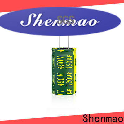 Shenmao radial electrolytic capacitor owner for coupling