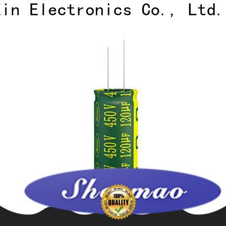 Shenmao electrolytic capacitor 100uf supplier for filter