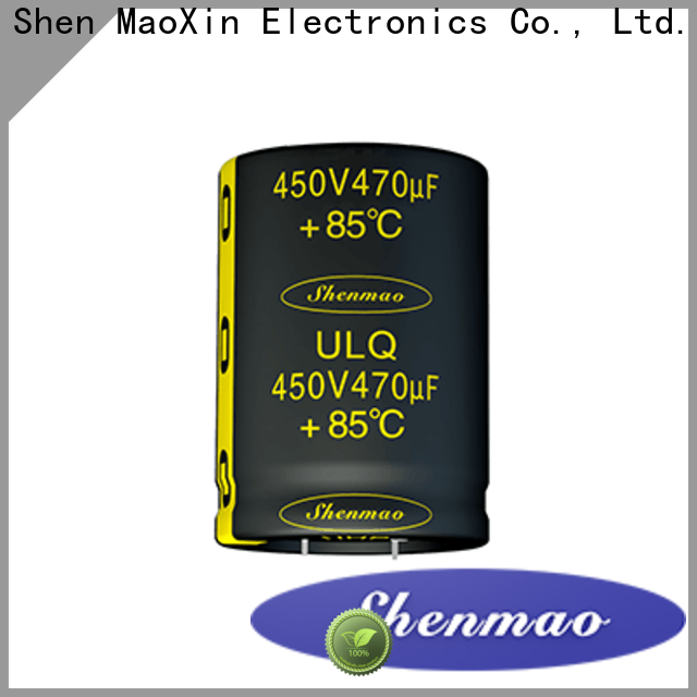 Shenmao durable high voltage electrolytic capacitors owner for tuning
