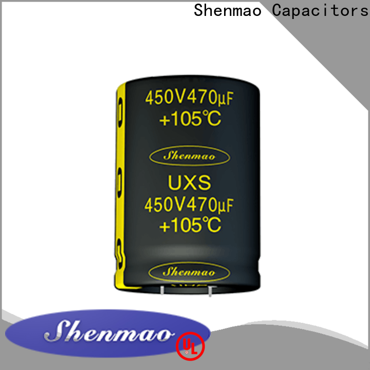 Shenmao stable snap-in capacitors marketing for timing