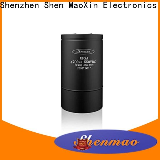 Shenmao 600v electrolytic capacitors marketing for temperature compensation