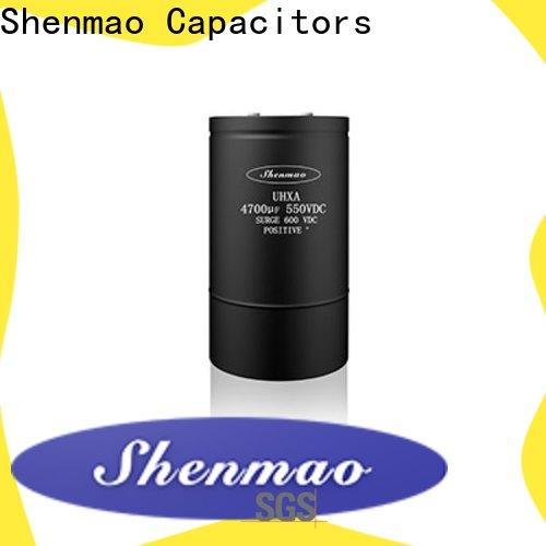 Shenmao advanced technology Screw Terminal Aluminum Electrolytic Capacitor overseas market for tuning