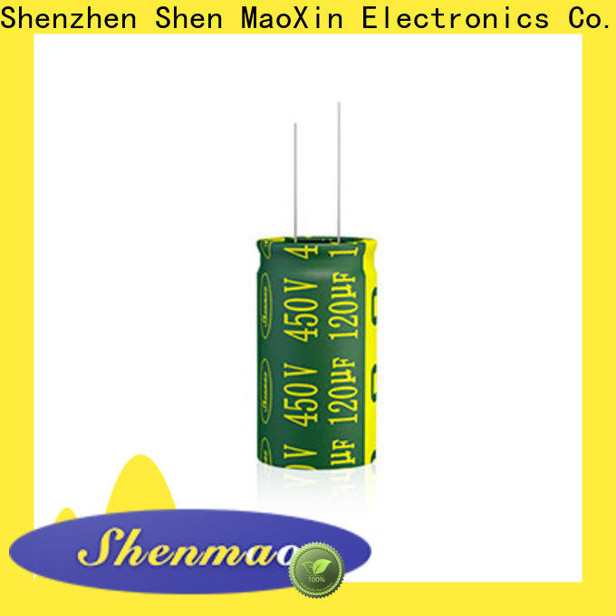 Shenmao quality-reliable 600 volt electrolytic capacitor supplier for rectification