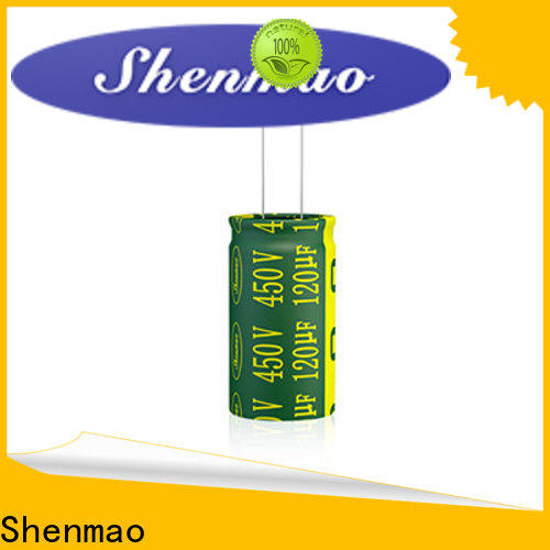 Shenmao radial electrolytic supplier for DC blocking