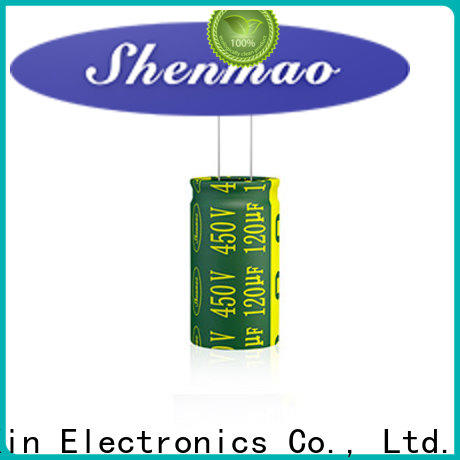Shenmao stable best electrolytic capacitor manufacturers vendor for temperature compensation