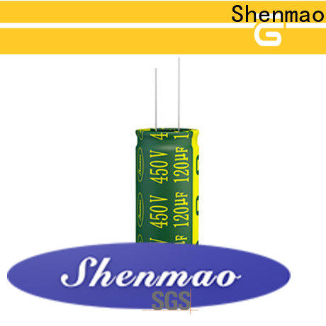 Shenmao 600 volt electrolytic capacitor bulk production for tuning