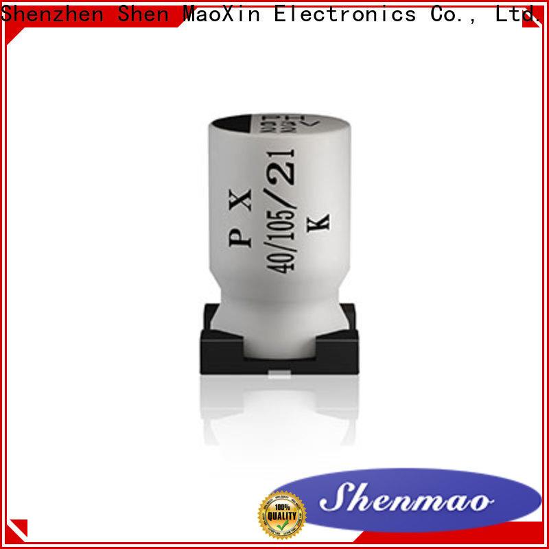 Shenmao smd aluminum electrolytic capacitor overseas market for energy storage