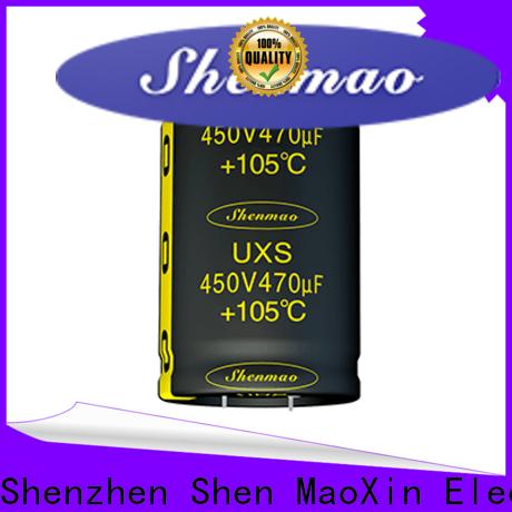 Shenmao stable snap in capacitor bulk production for filter