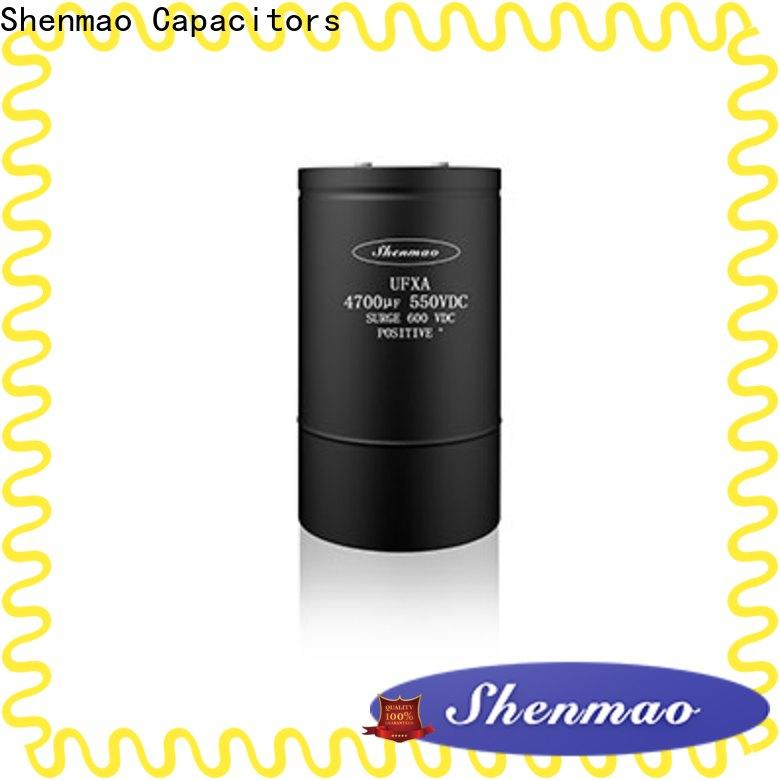 Shenmao polymer aluminum electrolytic capacitors oem service for tuning