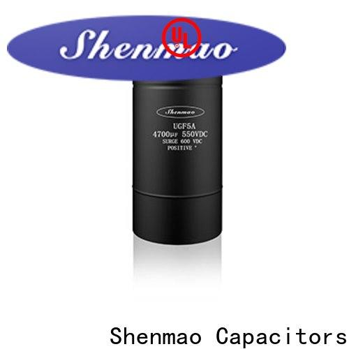 Shenmao advanced technology polymer aluminum electrolytic capacitors oem service for temperature compensation