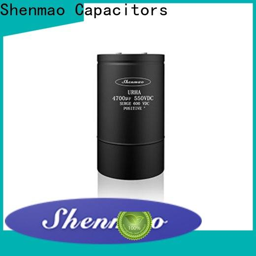Shenmao Screw Terminal Aluminum Electrolytic Capacitors marketing for rectification